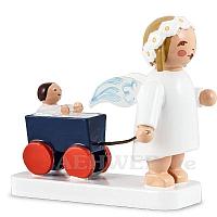 Margeritenengel mit Puppenwagen