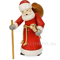 Weihnachtsmann gebeizt
