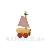Schiffchen auf Rädern