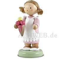 Kleines Mädchen mit Eistüte