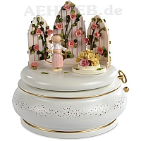 "Music Box ""The Magic Garden"" pink"