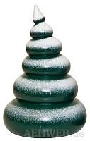 Baum mit Schnee 6-stufig lackiert