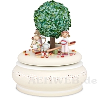 "Music Box ""The Old Apple Tree In Summer"""