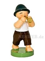 Junge mit Flöte