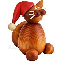 Weihnachtskatze Charlie groß