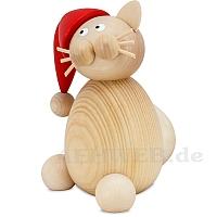 Weihnachtskatze Moritz groß