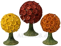 Blumenbäume farbig