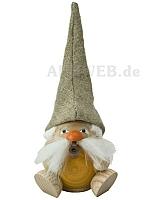 Räuchermann Waldzwerg, sandgelb