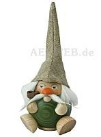 Räuchermann Waldzwerg, moosgrün
