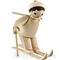 Slalomläufer Rechtsschwung naturbelassen