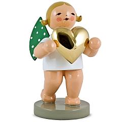 Liebesbote mit goldenem Herz