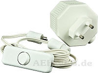 Trafo mit Kabel 12 Volt
