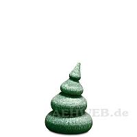 Baum mit Schnee 4-stufig gebeizt