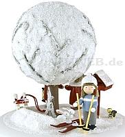 """Spieldose """"Der alte Apfelbaum im Winter"""""""