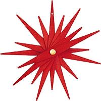 Baumbehang Faltsterne rot