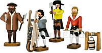 Bergleute im 16. Jahrhundert Gruppe 2