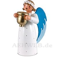 Engel mit Kerzenhalter