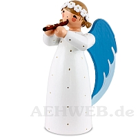 Engel mit Blockflöte