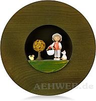 "Figurenbild ""Glückskäfer im Körbchen"""