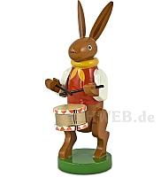 Hasenmusikant mit Trommel