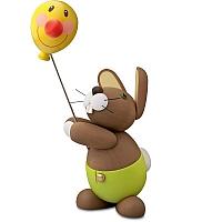 Hase Holger mit Ballon