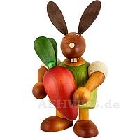 Maxi Hase mit Möhre grün