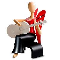 """Engel """"Laura Lindenholz"""" mit Gitarre"""
