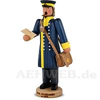 Räuchermann Sächsischer Postbeamter um 1850