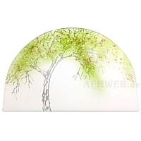 Gläsernes Bild Frühlingsapfelbaum