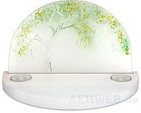 Gläserner Bogen Sommerapfelbaum