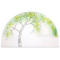 Gläsernes Bild Sommerapfelbaum