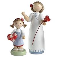 """Jahresfigur 2013 """"Für meine Mama"""" mit kleinem Mädchen"""