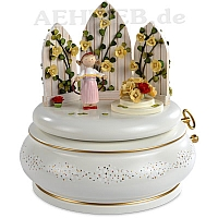"Music Box ""The Magic Garden"" yellow"