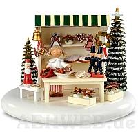 """Spieldosen Szene """"Weihnachtsmarkt"""""""