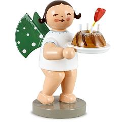 Engel mit Kuchen