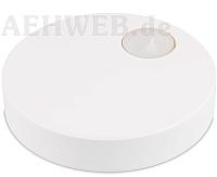 Dekorationssockel mit Teelicht weiß