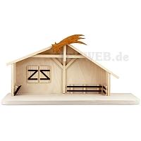 Krippenhaus für 22 cm Figuren