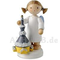 Engel mit Seiffener Kirche
