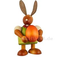 Maxi Hase mit Ei, grün