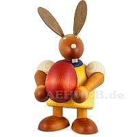 Maxi Hase mit Ei, gelb