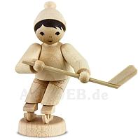 Eishockeyspieler kurfend naturbelassen