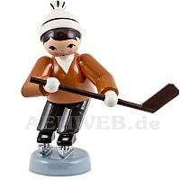 Eishockeyspieler kurfend braun