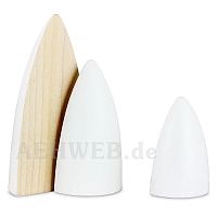 Spruces 3 pieces natural/white