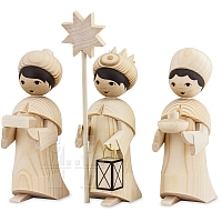 Epiphany singers natural wood small