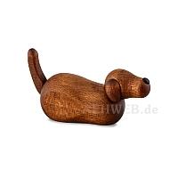 Hirtenhund liegend braun für 12 cm Krippe