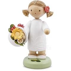 Mädchen mit Blütenkorb