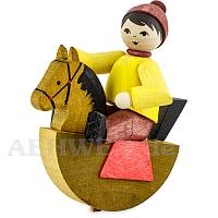 Reiterlein Junge gebeizt