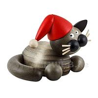 Weihnachts Schmusekatze Karli