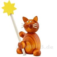 Katze Charlie mit Stern
