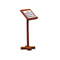 Music stand for Podium